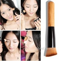 as show 1 Synthetic Hair Multi-Function Pro Makeup Brushes Powder Concealer Blush Liquid Foundation Make up Brush Set Wooden Kabuki Brush Cosmetics DHL 800pcs