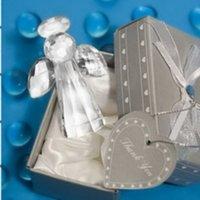 souvenir de bébé en cristal achat en gros de-Crystal Collection Belle Crystal Angel Paperweight Faveurs De Mariage Et Souvenir D'anniversaire De Bébé La Nouvelle Conception Crystal Articles D'ameublement