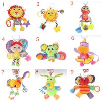 Wholesale Infant Toy Mobile - Wholesale- Baby Toy Infant Mobile in the Crib baby Rattles Kids Toys For Babies Doll Plush Toys for 0-12 Months bed stroller