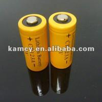 3v cr123a piller toptan satış-2014 Yeni Ürün 1300 mAh 3 V CR123A pil el feneri için çin İşlevli yapılan / Kamera