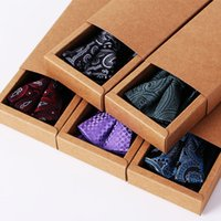 Wholesale Men S Knit Ties - [spot] polyester jacquard tie scarf tie suit Peiris gift box boutique goods wholesale