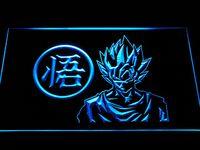 Wholesale Cheap Light Signs - g256 Dragon Ball Z GT Super Saiya Son Goku LED Neon Light Sign Cheap sign vinyl