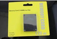 ps2 speicher großhandel-mit Retail-Box 8M / 16M / 32M / 64M / 128M-Karte für PS2 für Playstation 2 für PS2-Speicherkarten-Playstation