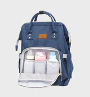 Wholesale Summer Nappy - Wholesale Diaper Bags Mommy Backpack Nappies Backpack Fashion Mother Maternity Backpacks Outdoor Desinger Nursing Travel Bags Organizer