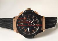 Wholesale Auto Battery Suppliers - Factory Supplier Top quality Luxury Wristwatches Black Dial New Quartz Chronograph Mens Watch Men's Watches Best Edition Rubber Strap Bands