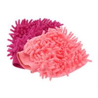 ingrosso guanti di pulizia auto-Super Mitt Microfiber famiglia lavaggio autolavaggi lavaggio guanti auto rondella antigraffio all'ingrosso