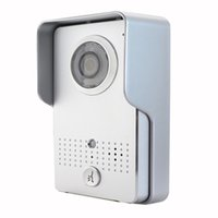 Wholesale 3g Video Camera Ir - Smart Home WI-FI 3G 4G Doorbell Video Door Phone IP WI-FI Camera for IOS & Android Smart Phones + IR Night Vision Silver F1269D
