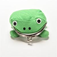 Wholesale frog wallets - Frog Wallet children kids Frogs Plush Coin zero Purse Uzumaki pouch handbag cosplay goods with Iron button