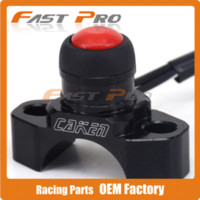 Wholesale Dirt Bike Kill Switch - CNC BILLET UNIVERSAL ENGINE STOP START KILL SWITCH BUTTON For CR KX KTM DR Husaberg Husky Gas Gas Motorcycle Dirt Bike Motocross
