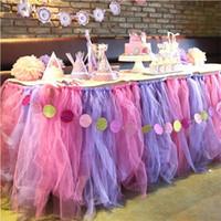 hochzeitsschere dekoration großhandel-3 Rolls 6 * 25Y Hochzeit Dekoration Roll Kristall Tüll Pflaume Organza Sheer Gaze Element Tischläufer hochzeit bevorzugt 22x15 cm
