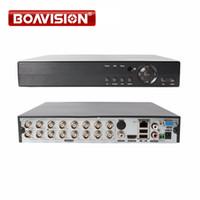 Wholesale video security cctv - 5 IN 1 AHD CVI TVI CVBS NVR 4Ch 8Ch 16Ch 1080N Security CCTV DVR NVR XVR Hybrid Video Recorder 1080P Onvif P2P