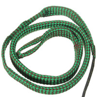 Wholesale Gun Cleaning Kit Wholesale - Green Bore Snake Rope 22 Cal 5.56mm 223 Caliber Gun Rifle Cleaning Cord Kit Hunting Gun Accessories 1Pcs