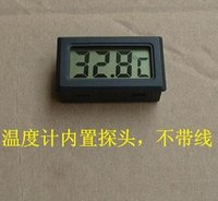 Wholesale Display Freezers - high quality mini digital LCD display temperature sensor meter fridge freezer thermometer tester range -10C ~ + 50C