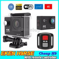 "Wholesale Cheap Cmos Camera - Cheap H9 Action camera Original EKEN H9Rse Ultra HD 4K WiFi 1080P 60fps 2.0"" Mini Cam waterproof Sports cameras"