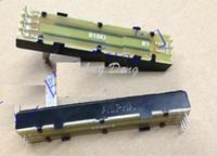 Wholesale fader potentiometer for sale - Taiwan cm long handle double sliding potenometer B10K MM rail fader