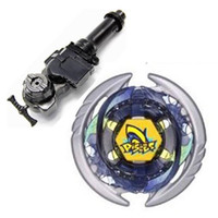 Wholesale Pisces Gifts - 1Pcs 4D Beyblade Metal Fight Thermal Pisces Metal Fusion BB57 Christmas Gifts Toys Beyblade +L-R Starter Launcher + Hand Grip