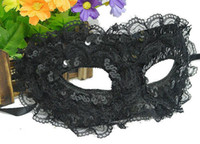 Wholesale Fun Blindfold - Sexy female lace princess mask masquerade party queen fun adult blindfold half face mask