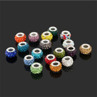 Newest fashion DIY accessories Crystal women Jewelry accessories Diamond large eye Jewelry beads Necklace Beads 2527-2