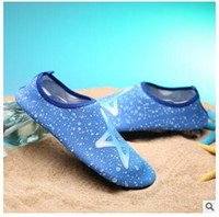 Wholesale Aqua Sandals - Summer NEW Swimming Light Aqua sports sandals QuickDrying Slip On Skin Soft beach shoes water Shoes Barefoot Aerobic Vacance Multi Socks