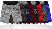 Wholesale Wholesale Black Basketball Shorts - High quality bermudas masculina de marca Shorts men beach Short board Male sport shorts men's basketball running boardshorts