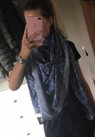 Wholesale Gif Chain - luxury designer scarf women black print flower crown winter scarves gif for Chirstmas Wrap Shawl Pashmina Scarf