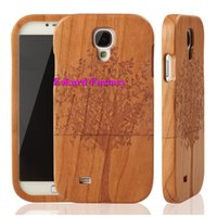 Wholesale Covers For Galaxy S4 Wood - Eskard For Samsung Galaxy S4 Wood Cover Coque Genuine Eco-friendly Wood Phone Cases For Samsung Galaxy S4 Fundas