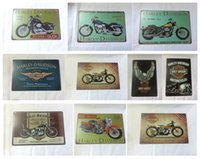Wholesale Harley Davidson Cycles Vintage home Bar Pub Hotel Restaurant Coffee Shop home Decorative Metal Retro Tin Sign