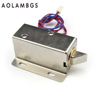 Wholesale Bolt Doors - DC 12V Mini Electric Bolt Lock Power locks for Cabinet Door, Drawer,Electromechanical Locks,MSX 01