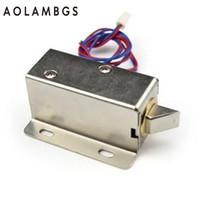 Wholesale Door Power Lock - DC 12V Mini Electric Bolt Lock Power locks for Cabinet Door, Drawer,Electromechanical Locks,MSX 01