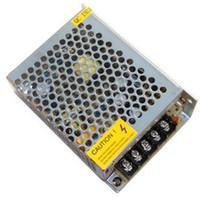 máquina de estampado de latón al por mayor-Equipo de alimentación de tira de luz de monitor de malla de aluminio, fuente de alimentación conmutada s-60-12 entrada 220VAC salida 12V 5A 60W de potencia