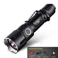 Wholesale Tactical Flashlight Electric - Tactical LED Flashlight KLARUS XT11GT 2000LM CREE XHP35 Torch + 3100mAh Battery