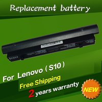 Wholesale Battery Lenovo Fru - Wholesale-Laptop Battery For Lenovo IdeaPad S10 S10C S10E S12 S9 S9E 45K127 45K1275 45K2178 ASM 42T4590 FRU 42T4589 L08S3B21 L08S6C21