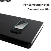 Wholesale Cases For Galaxy Note3 - 2017 NEW flexible Rear Transparent Back Camera Lens Tempered Glass Film Protector Case For Samsung Galaxy Note8 note4 note5 note3