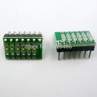 Led Pcb Modules for sale - 2pcs lot 3.3V 5V 12V 6 Digital RED LED Indicator Module for Breadboard Universal board PCB 3d printer PLC MCU Development Board