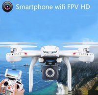 Wholesale Fixed Wing Helicopter - Profession Drones MJX X101 Quadcopter 2.4G 6-Axis RC Helicopter with Gimbal with 720P C4018 FPV Wifi Camera HD VS SYMA X8C X600