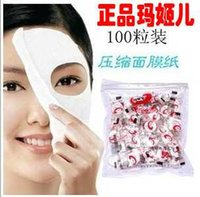 Wholesale Skins Compression Wholesale - Skin Care DIY Facial Face Compressed Mask Paper Tablet Masque Treatment Folding Compression Mask
