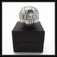 Wholesale Death Stars - 2016 Wholesale Death Star Grinders 3 Layer Parts 53mm Diametre Zinc Alloy Metal Grinder Ball Shaped 3pc Pokeball Style Grinders