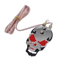 Wholesale Professional Skull Tattoo Power Supply Foot Switch Pedal Stainless Steel Silver Red