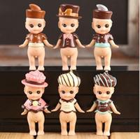 Wholesale Wholesale Kewpie Dolls - 6 pcs set Kewpie Doll Sonny Angel High Quality Doll Set Toy,Sonny Angel Valentine's Day Chocolate Series PVC Figure Doll Toys