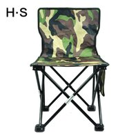 Camouflage Portable Folding Camping Chair Seat Hiking Beach Garden Outdoor Fishing Travel Have A Backrest 600D Oxford pano Novo