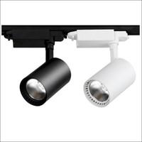 track für lampe großhandel-Speichern Sie Supermarkt LED Lichter Schiene Lichter Ac85-265V Track Beleuchtung 7W 10W 15W 20W 30W kommerzielle LED Downlight Tracking Lampe