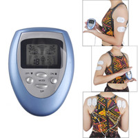 Wholesale Electric Massage Slimming - Electric Slimming Massager Pulse Muscle Pain Relief Fat Burnning Relaxation Health Care Body Massage 4 Pads pain fitness 0613005