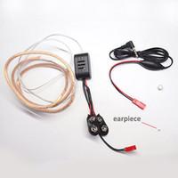 mikro aygıtı toptan satış-Toptan Süper Mini kablosuz ses Mikro kulaklık mikro gadget 3mm * 2mm kulaklık