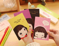 Wholesale Wholesale Diary Book - Wholesale-Notebook Note Diary Book Korean Cookyshop Cooky's Girl Mate Organizer Mini Cute New