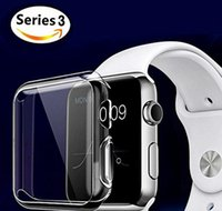 Custodia in TPU trasparente per Apple iWatch / Cover Protector per Apple Watch iwatch Series 3 (38mm 42mm)