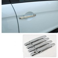 Wholesale Car Exterior Door Handle - Car styling For Mitsubishi ASX Outlander sport RVR 2011 2012 2013 Chrome car door handle cover exterior accessories
