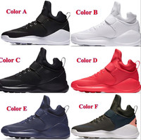 Wholesale Sneaker Women High Cut - New Air KWAZI Running Shoes For Men or Women Black Red White High Quality basketball Boots Outdoor Sneakers athletic Casual Sport shoes