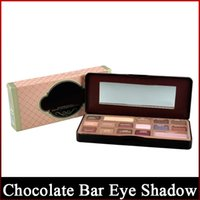 Wholesale colour cosmetic set resale online - 1 Generation Chocolate Bar Makeup Eye Shadow Set Colors Professional Cosmetic Makeup Palette Colours Makeup Kits freeshipping