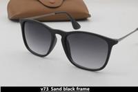tendência de óculos casuais venda por atacado-Moda retro clássico tendência de alta qualidade óculos homens e mulheres de alta definição designer casual versão coreana dos óculos de sol