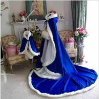 Wholesale White Capes For Sale - 2017 Hot Sale Custom Made Bridal Cape Wedding Cloaks Warm Faux Fur Perfect For Winter Wedding Bridal Cloaks Abaya Style